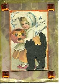 Vintage Hallowe'en ATC
