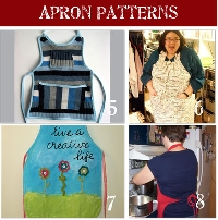 Dressing up for the Holidays- An apron swap*EDITED