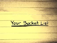 Bucket List Postcard