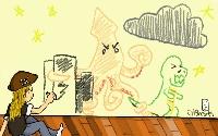 Robots, Dinosaurs, Zombies, OH MY! (ATC)