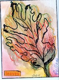 Draw 1 ATC Autumn Leaf
