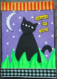 1 Theme, 1 ATC, 1 Week #4 ~ Cats