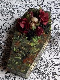 Macabre Tree Ornament- Handmade