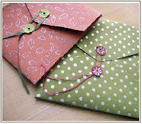 Handmade Envelope Swap - USA