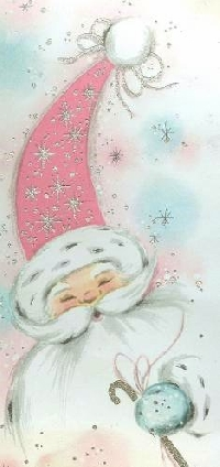 Glittery Sparkly Christmas Cards - International