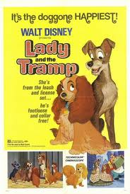 Disney Animated Films #9-Lady and the Tramp