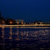 Postcard CITY AT NIGHT #4
