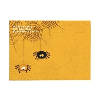 Decorate an envelope for Halloween