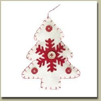 Felt Christmas Decorations - Handmade