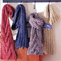 make me a winter scarf