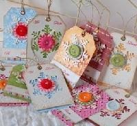 handmade christmas gift tags - Christmas Tags Handmade