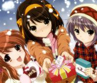 Christmas Anime Card