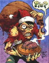I :heart: Zombies Holiday card