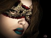 ATC - Masquerade Masks (2)