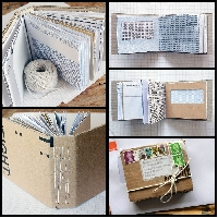 FEB: Naked Notebooks! (mail art challenge) #2