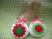 Handmade Christmas Ornament Swap