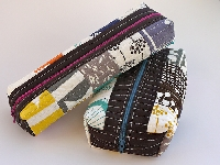 Quilted Box Pouch