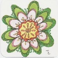 Zentangle Circle Mandala