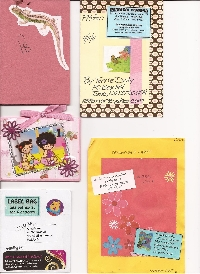 Friendship Books + Label Bags + Sticker Bags Swap!