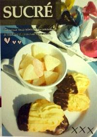 Sweet desserts & candies postcards swap