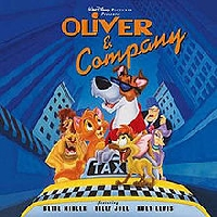 Disney Animated Films-Oliver and Company