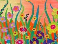 Flower Power Mail Art