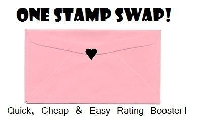 One Stamp Swap! Quick & Easy Rating Booster!