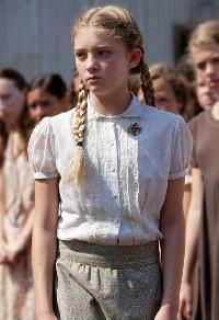The Hunger Games ATC--Primrose Everdeen