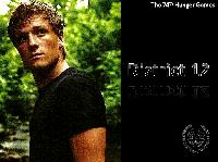 The Hunger Games ATC--Peeta Mallark