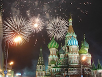 Fireworks Postcard Swap