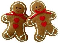 Shaped Christmas ATC Series - #1 Gingerbread Man