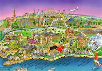 Map Postcards Swap (Blank)