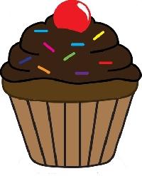 Cupcake ATC Series - #2 Chocolate