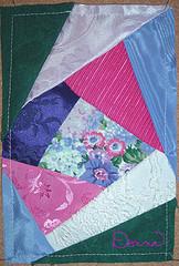 Crazy Quilt Block with no embellishment