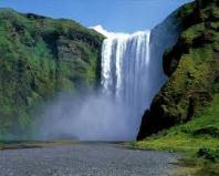 One postcard, one partner #54 - Waterfall