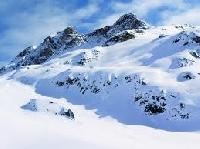 Postcard with SNOW
