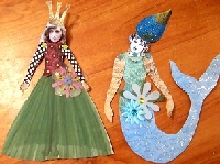 Whimsical Paper doll fun!