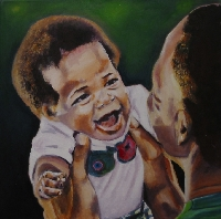 Painting of ......#4 *a baby or child*