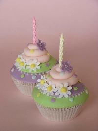 Cupcake ATC Series - #4 Birthday Cupcake