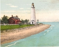 Lighthouse - USA Postcard Swap #2