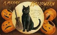 Halloween ATC #8-- Vintage or Prim Halloween