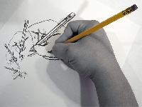 Hand drawn/Hand painted FREE THEME