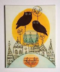 EASU: Owls are a HOOT! ATC Swap