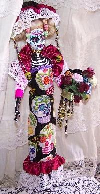 FAD- Dia de los Muertos Art Doll