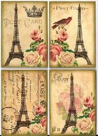 A Famous CIty ATC #1: Paris