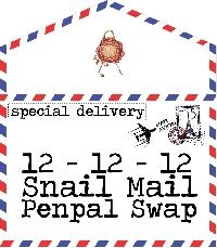 12-12-12 Snail Mail Penpal Swap