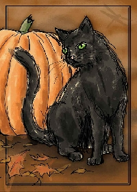 Halloween Animal A.T.C.
