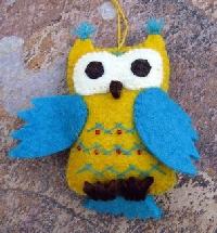 Owl ornament swap
