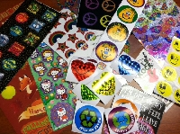 300 Stickers Mega Swap