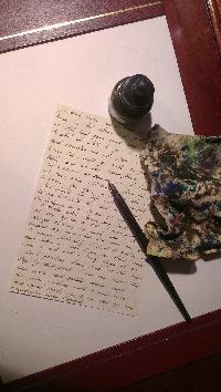 Dip Pen Letter- February  2013